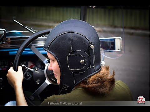 DIY, Aviator Hat Tutorial & Patterns. How To Sew Aviator Hat, Tutorial And High Precision Patterns.