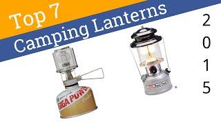 7 Best Camping Lanterns 2015