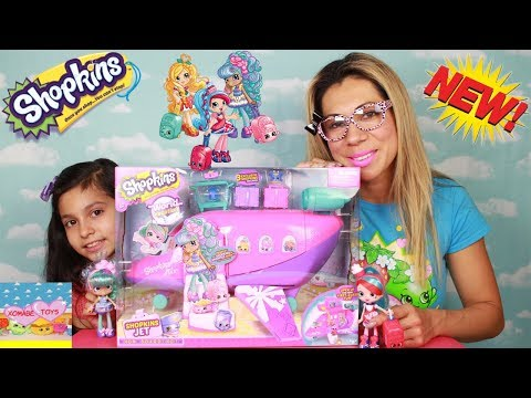 Shopkins Jet Opening from World Vacation with 3 Exclusive Shopkins