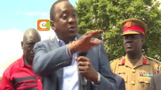 President Kenyatta defends gov't against graft claims