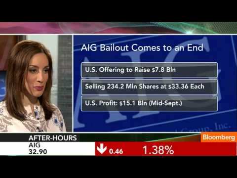The AIG Bailout Comes to an End