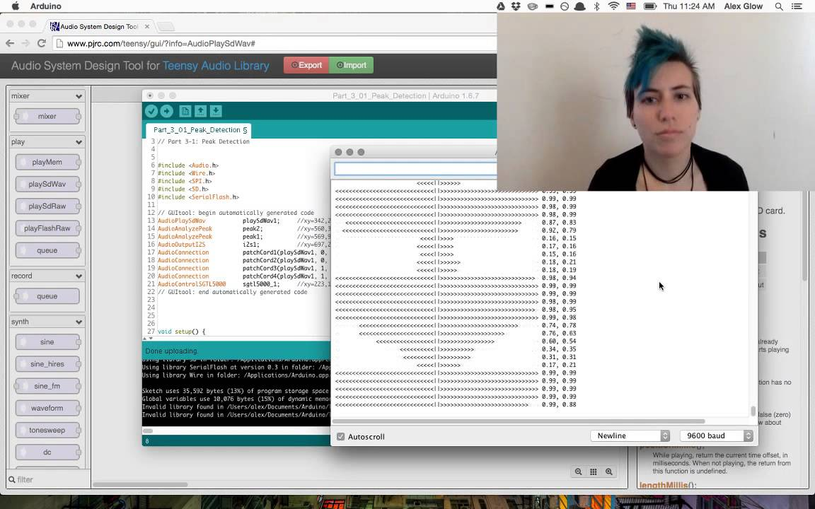Virtual Workshop: Advanced Audio with Teensy – Pt  4