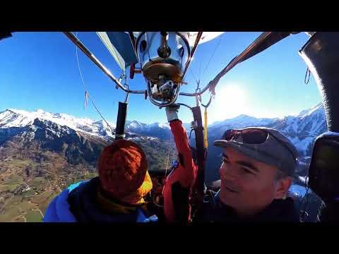 Vol en Montgolfière hautes-alpes Champsaur printemps 2019