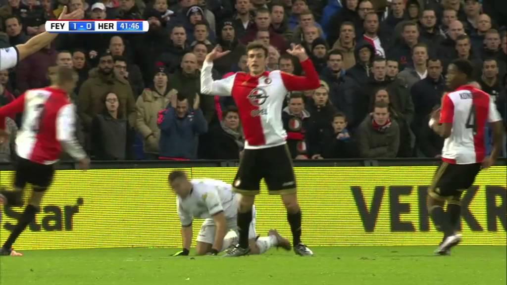 Feyenoord - Heracles Almelo 3-0 | 06-12-2015 | Samenvatting