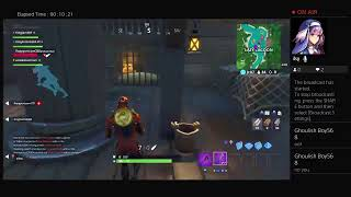 Fortnite kingjam849 and kingfortnite84 try to get a victory royale