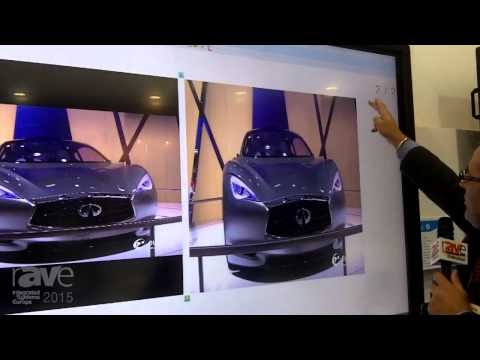 ISE 2015: Genee World Demonstrates Spark Software and Touch 80″ LED Screen
