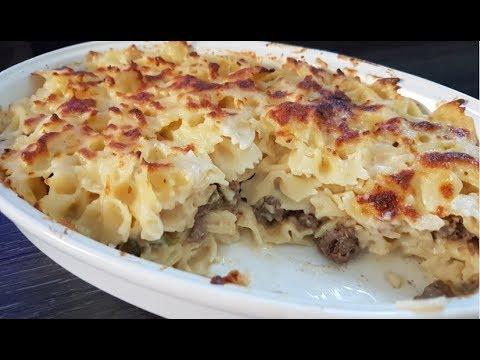 gratin-de-pâtes-à-la-viande-hachée-super-bon!-#-recette-d'été-2018/5