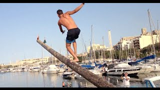 Climbing The Greasy Pole in Malta