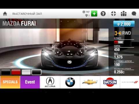 Короткий обзор на игру racing rivals