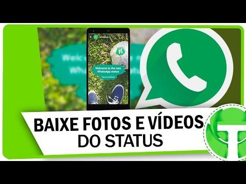 Truque para baixar FOTOS E VÍDEOS do Status do WhatsApp