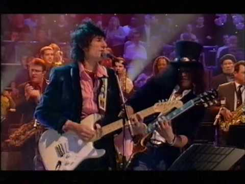 Dave Swift on Bass, Jools Holland, Ronnie Wood & Slash