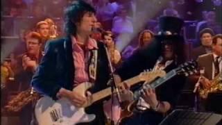 "Dave Swift on Bass, Jools Holland, Ronnie Wood & Slash ""Little Queenie"""