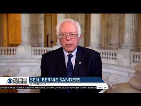 Bernie Sanders rips Obama over taking $400,000 for Wall Street speech