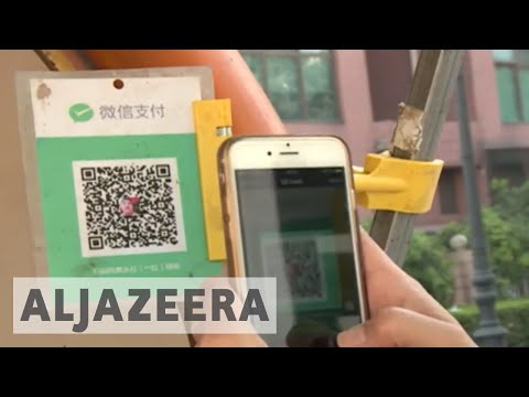 Mobile payments overtake use of cash in China