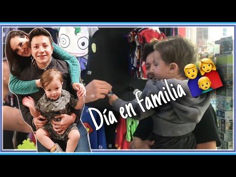 DÍA EN FAMILIA/ PRIMER UNBOXING DE SANTIAGUITO😂😍