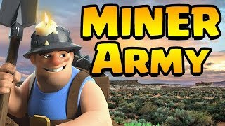 MINERS in CWL WARS!?  YES!  MINERS GUIDE | Clash of Clans