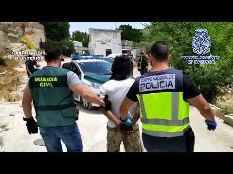 Operación conjunta de Policía Nacional y Guardia Civil en la Campiña Cordobesa