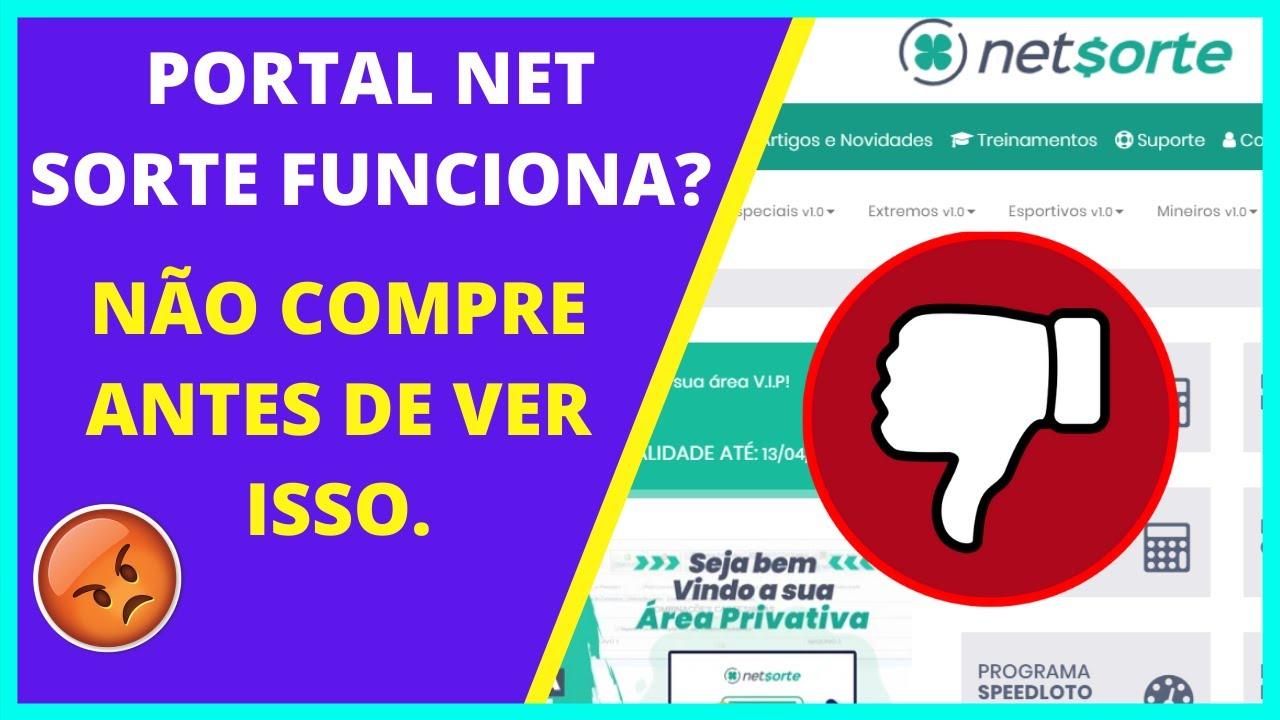 Portal Net Sorte Funciona? Veja Como é Dentro do Portal - REVIEW