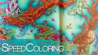Coloring in MYTHOMORPHIA with Prismacolor | Part 2