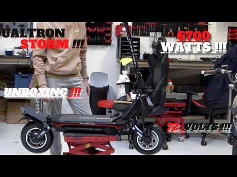 Unboxing Dualtron Storm 72 Volts !!! Trottinette Électrique Surpuissante !!! 6700 Watts !