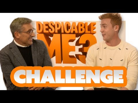 THE ABC CHALLENGE! ft STEVE CARELL