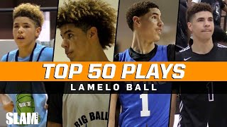 LaMelo Ball BEST PLAYS of Career! 🔥 SLAM Top 50 Friday