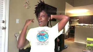Chit chat! Life update while braiding my hair for a braid out