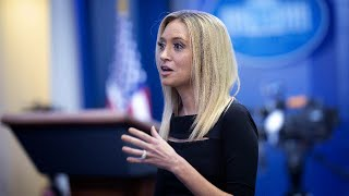 WATCH: White House Press Secretary Kayleigh McEnany holds her first press briefing