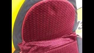 Авточехлы Pilot ткань велюр красные(, 2014-05-15T15:39:39.000Z)