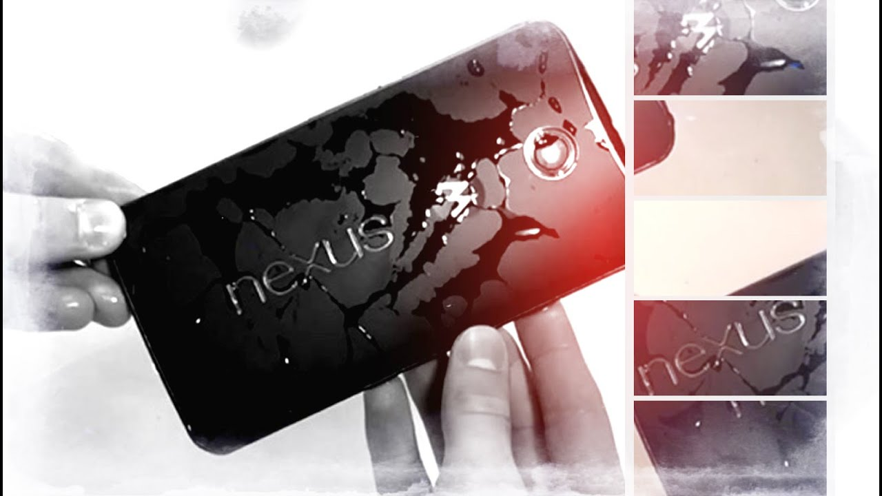 Nexus 6 Nano Coated Water Resistance Test by Immersion In ...