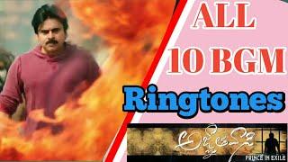 All 10 bgm's of agnathavasi movie | powerstar pawan Kalyan movie bgm | Anirudh bgm's | Msboys