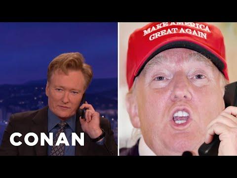Donald Trump Calls Conan  - CONAN on TBS