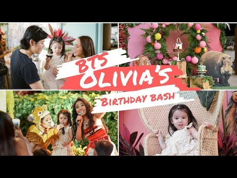BTS of Olivia's 3rd Birthday Party | Andi Manzano Reyes