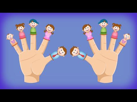 10 Little Fingers Nursery Rhyme   Numbers Rhymes for Children