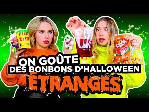 ON GOÛTE DES BONBONS DHALLOWEEN ÉTRANGES! | 2e peau