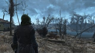 Fallout 4 Free Roam Gameplay #1 - PC - Survival
