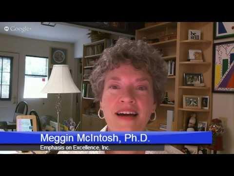Meggin McIntosh, President Emphasis on Excellence
