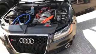 Supercharged Sunday Dyno Day - Tesla Swapped Audi S5