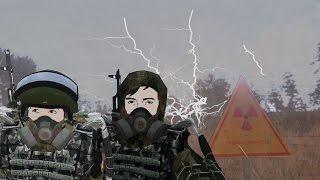 Мэддисон играет в ARMA 3 Stalker Online пуля друга