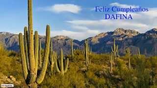Dafina   Nature & Naturaleza
