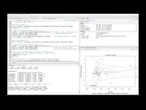 R Stats: Multiple Regression - Variable Preparation