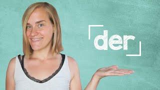 German Lesson (27) - Definite Articles - der - A1
