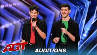 Brothers Gage: Two Brothers SURPRIZE The Judges With Their Harmonica Skills