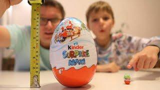 Biggest and Smallest Kinder Egg