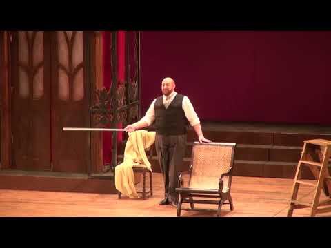 Stephen Cunningham sings Se vuol ballare from Le Nozze di Figaro