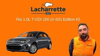 🔥 Présentation  Kia Rio 1.0L T-GDi 100 ch ISG Edition #2  de 2018 et 21000Kms VO 23670