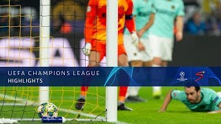 UEFA Champions League | Borussia Dortmund v Inter Milan | Highlights