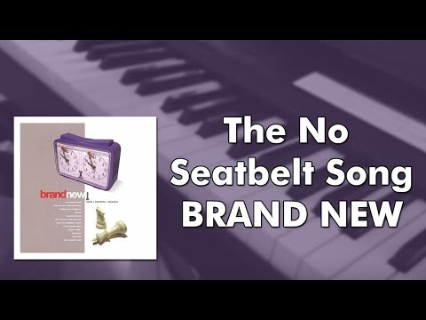 Brand New - The No Seatbelt Song (piano cover)