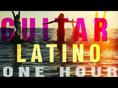 1-Hour Latino Guitar & Isochronic Ocean Waves | Focus, Study & Concentration