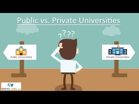 Public vs. Private Universities: Which Is Better for Study in USA?
